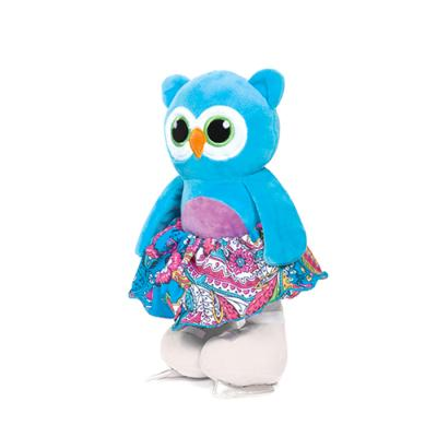 Peluche Hibou Patineuse