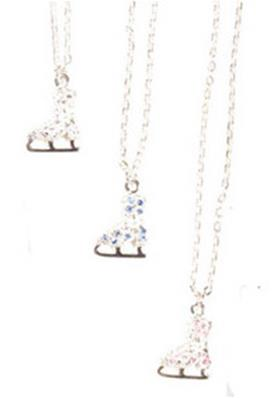 Collier Patins Strass
