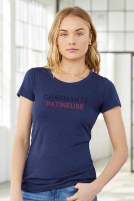 Charmante Patineuse Navy Triblend