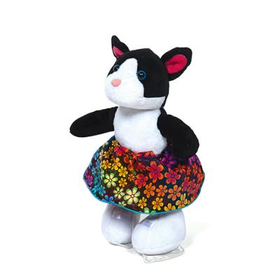 Peluche Chat Patineuse