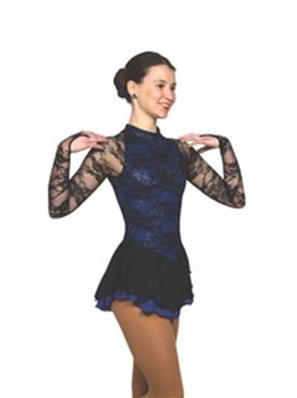 Tunique de patinage - Onyx On Iris Dress