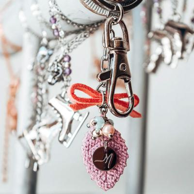 Porte-clefs - Adorable - Rose