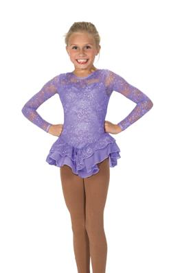 Tunique de patinage - Love & Lace Dress - Purple